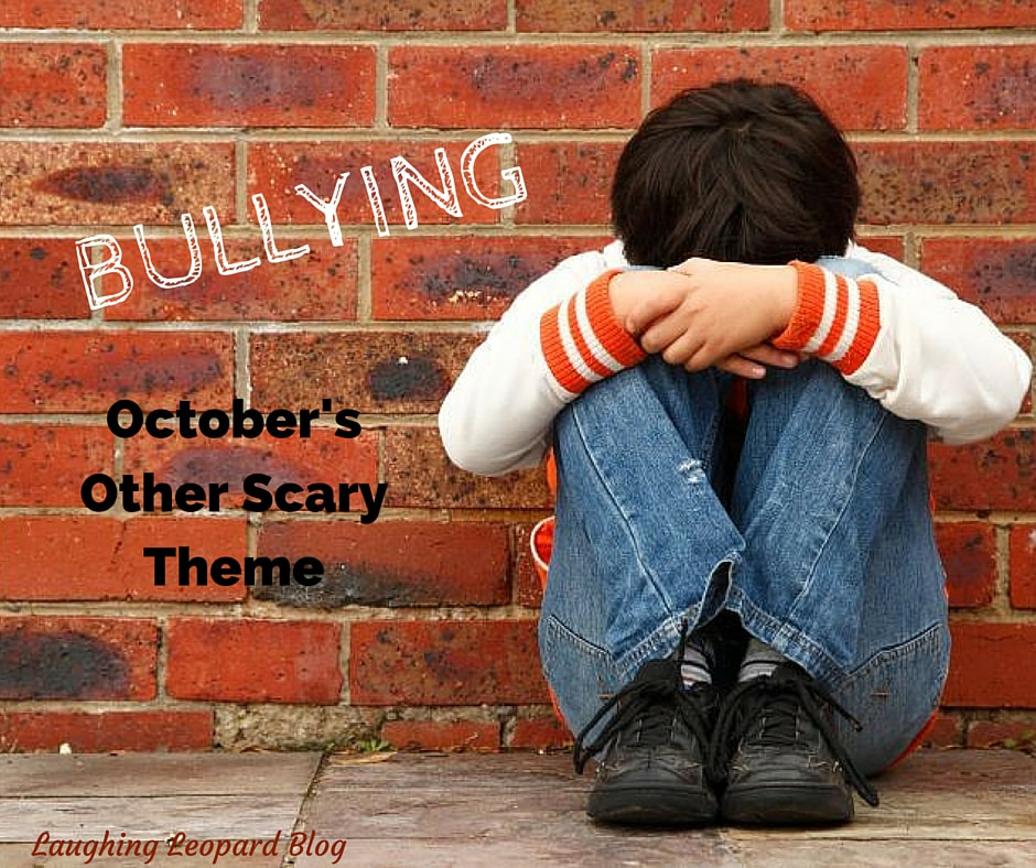 Bullying: October's Other Scary Theme, blog cover