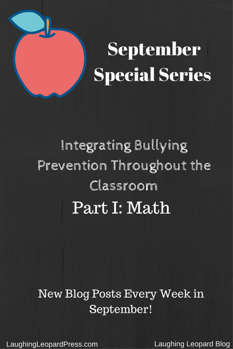 Integrating Bullying Prevention: Part 1 Math, blog cover