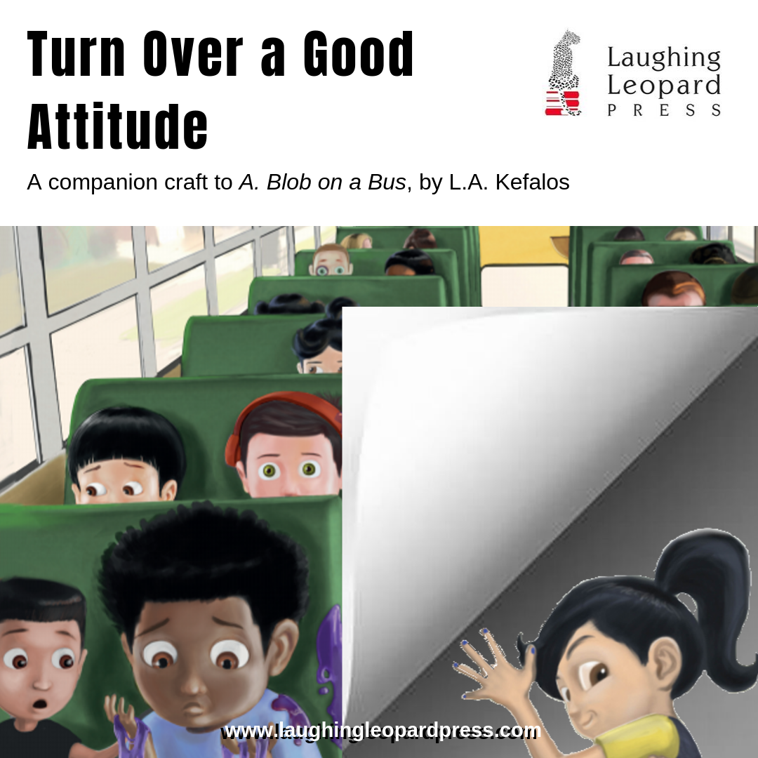 Turn Over a Good Attitude Book Extension Craft Blog Cover and Link
