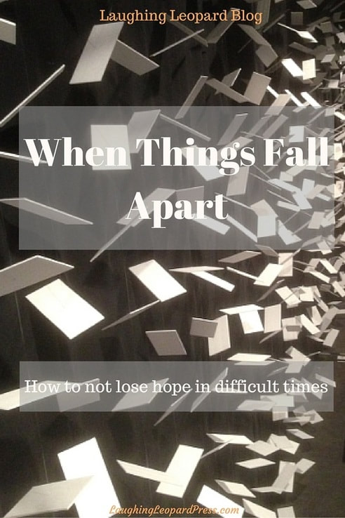 When Things Fall Apart, blog cover